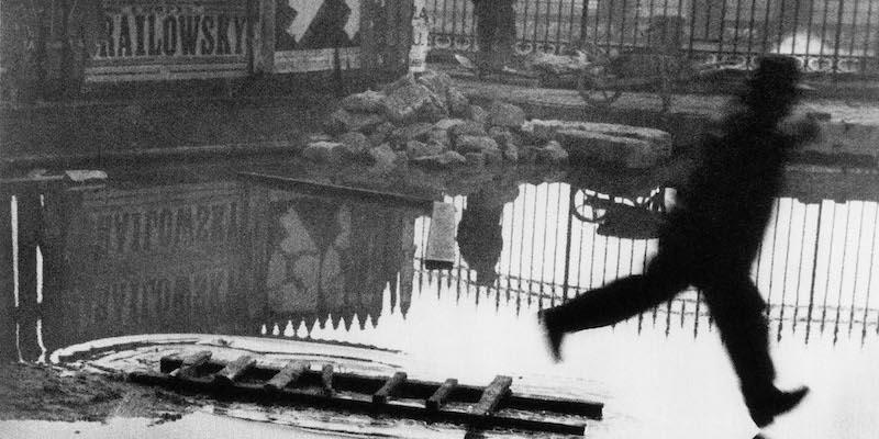 Derrière la Gare de Saint-Lazare (detail), Henri Cartier-Bresson