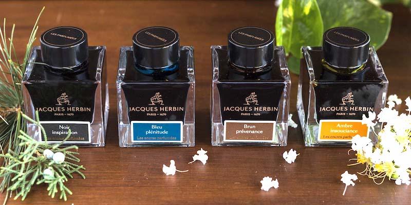 Herbin scented ink