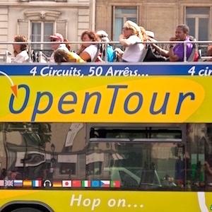 Paris L'Open Hop-On-Hop-Off Bus Pass
