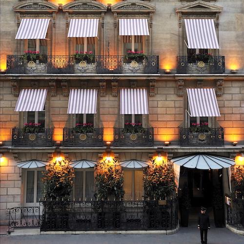 Minimalism + Luxury at 5-Star Hotel Lancaster | Paris ...