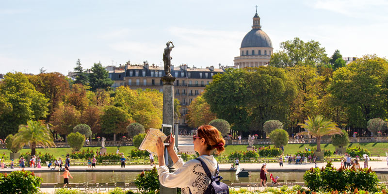 Jardin du Luxembourg, photo by Mark Craft