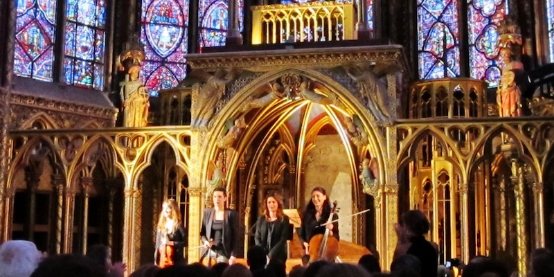 Music at La Sainte Chapelle