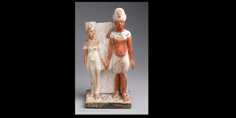 Akhenaton and Nefertiti