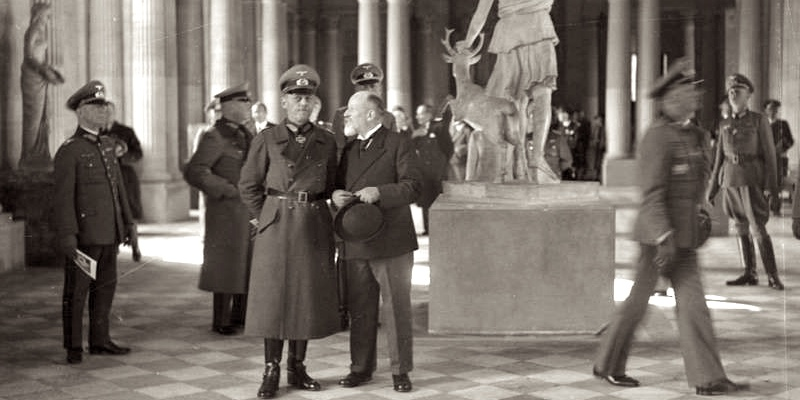 The Nazi Occupation of the Louvre
