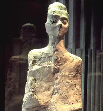 Ain Ghazal Statue