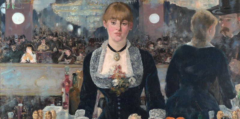 A Bar at the Folies-Bergère, Manet