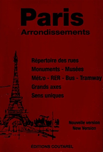 Paris Arrondissements, Red Cover