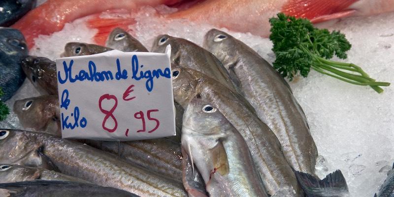 Fish at the Puteaux market