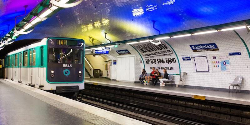 Metro Rambuteau