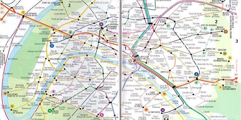 michelin is the premier name in paris maps this is an easy to carry map of paris arranged by the areas of paris each double page map includes an inset