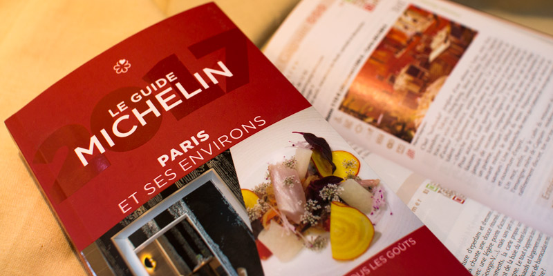 Michelin Red Guide Paris