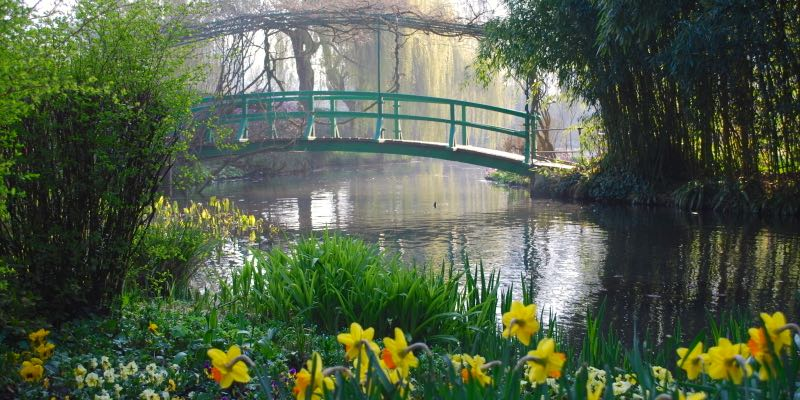 Monet's Japanese bridge