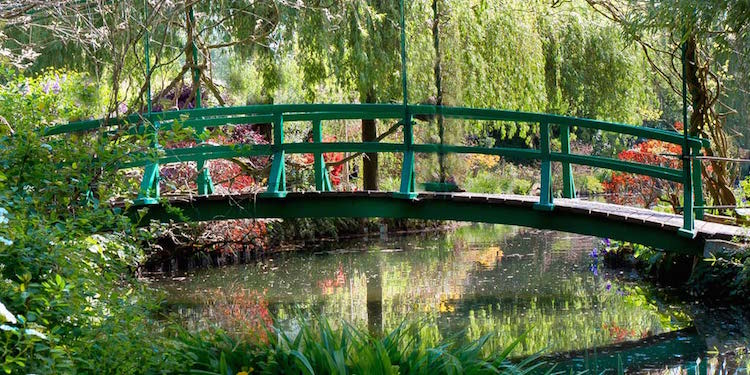 Rail & Bike Tour of Monet's Gardens