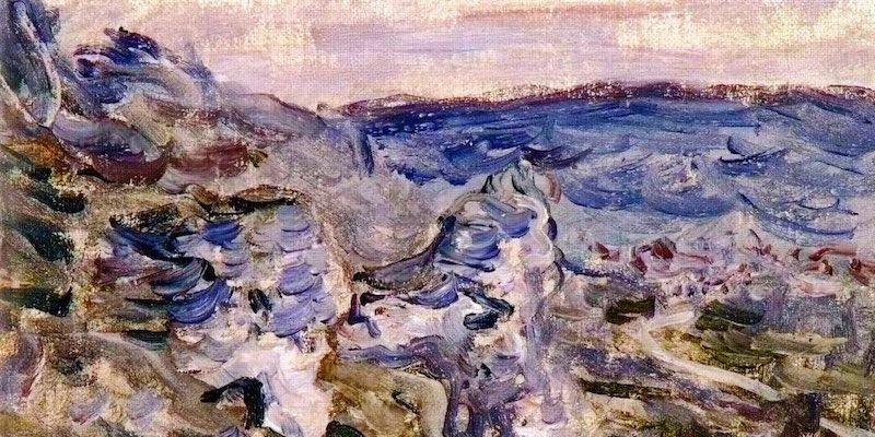 Monet, Les coteaux pres de Vetheuil