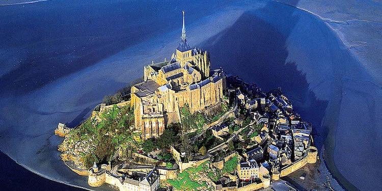 Mont St-Michel History