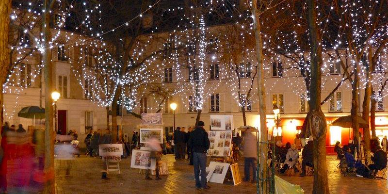 Musicians in Montmartre