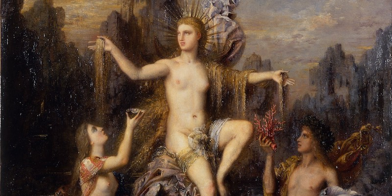 Moreau, Venus Rising from the Sea
