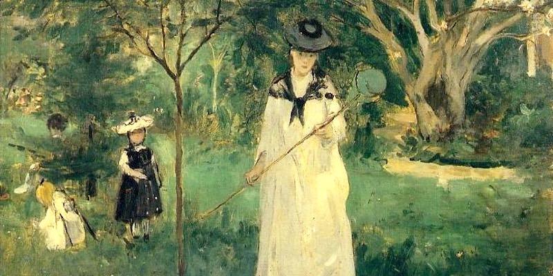 Morisot, Chasse aux Papillons