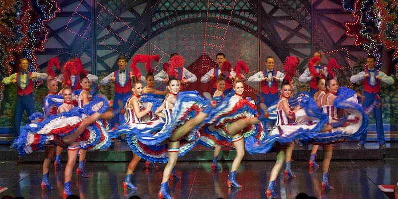 Moulin Rouge Dinner, Show & Hotel Transportation