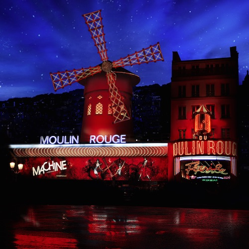 Eiffel Tower, Moulin Rouge and Seine River Cruise
