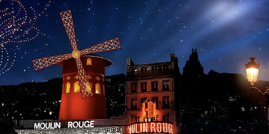 Christmas Dinner at the Moulin Rouge