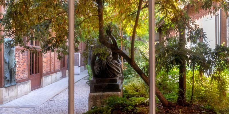Musee Bourdelle, garden, photo by Mark Craft