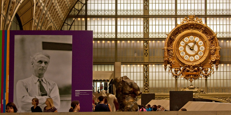Musée d'Orsay clock, photo by Mark Craft