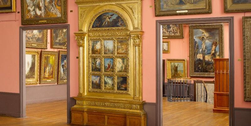 Musee Moreau Studio, by Franck Raux