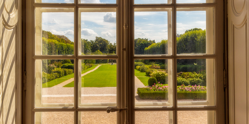 View of Rodin's garden, photo by Mark Craft