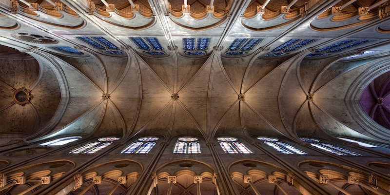 Notre Dame Vaulted Ceiling
