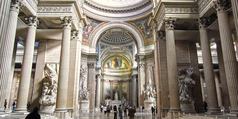 Visiting the Pantheon