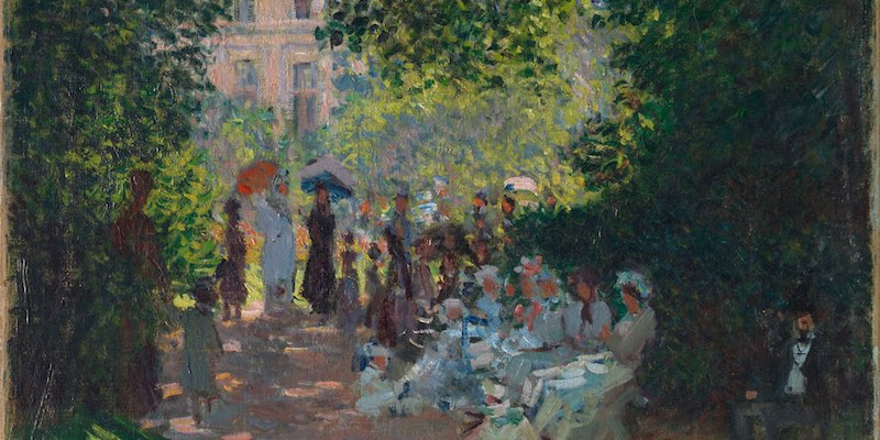 Parc Monceau by Monet