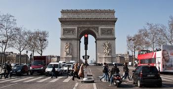 Champs Elysées – Arc de Triomphe – Petit Palais