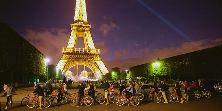 Night Bike Tour of Paris