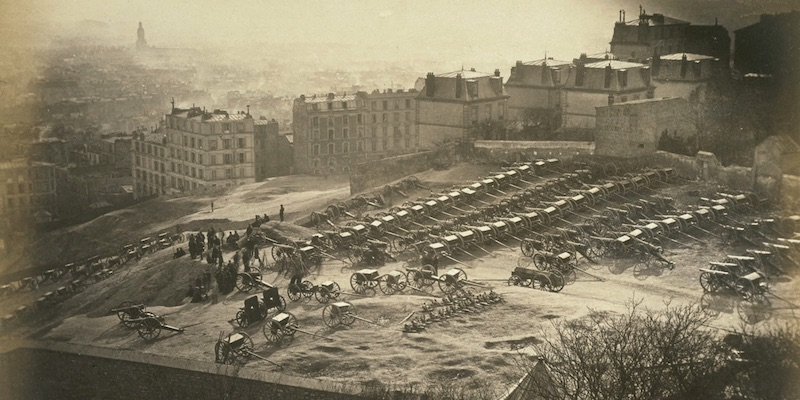 The Cannons on Montmartre, March 1871