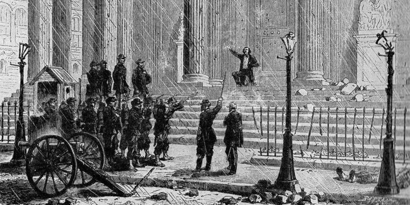 Execution on the steps of the Pantheon, May 1871