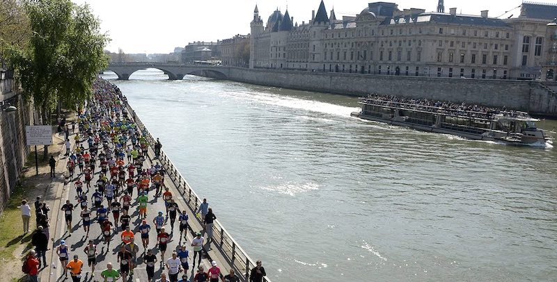 The First Paris Marathon