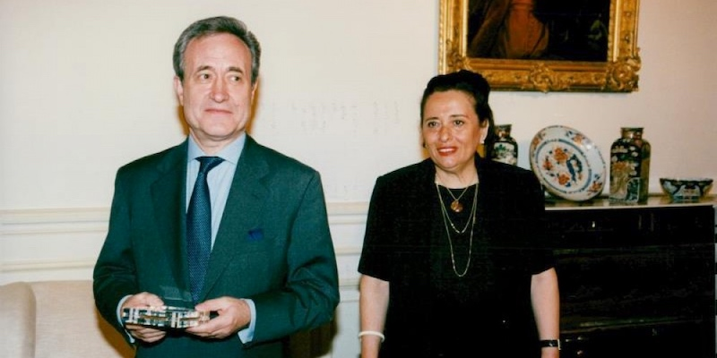 Jean Tiberi & Wife