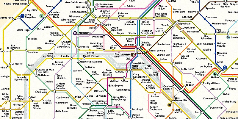 Subway Map Paris English.Getting Around Paris Insiders Guide