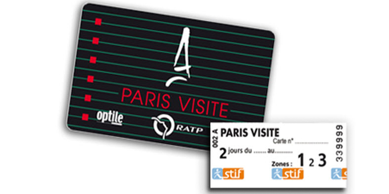 Paris Visite perma-ticket