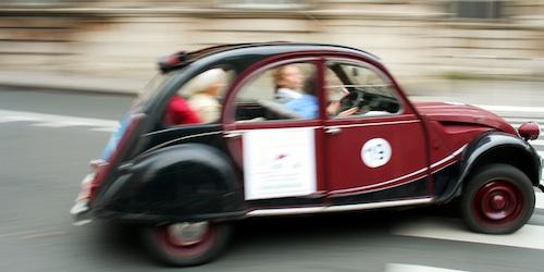 See Paris from a 2CV