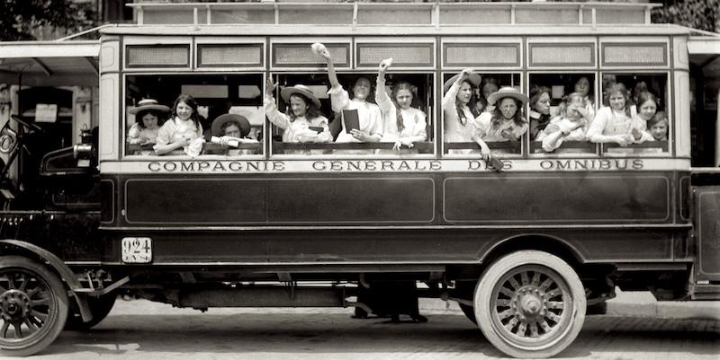 CGO Ominbus, Paris c. 1910