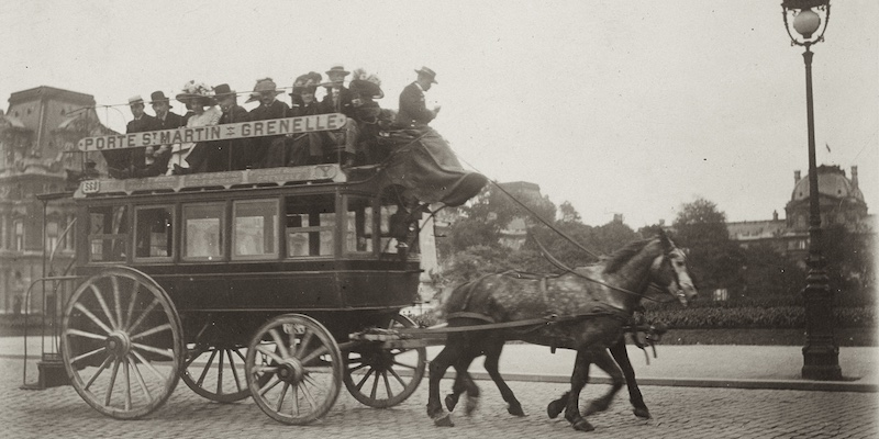 History of The Paris Bus System