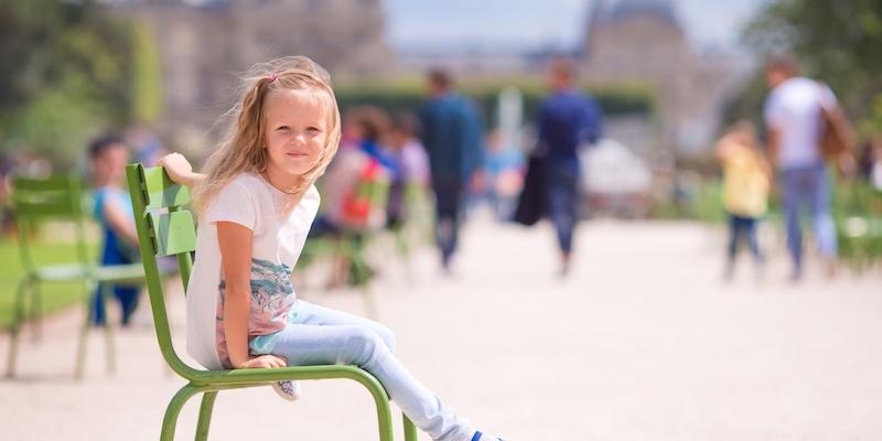 Tuileries in summer