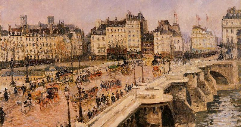 Pont Neuf, by Pissarro