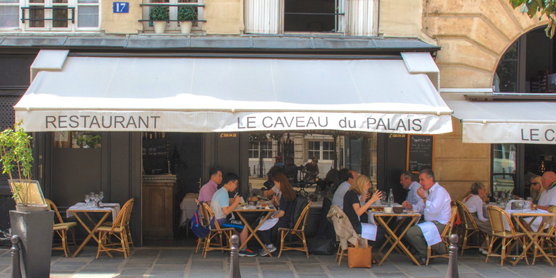 Le Caveau du Palais, photo by Mark Craft