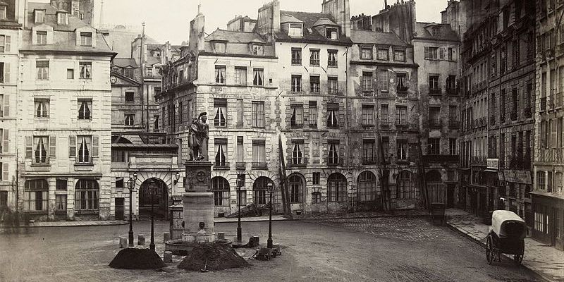 Place Dauphin in 1865, by Marville
