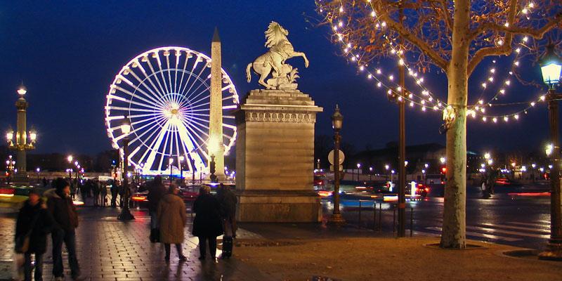 Place de la Concorde, photo by Mark Craft