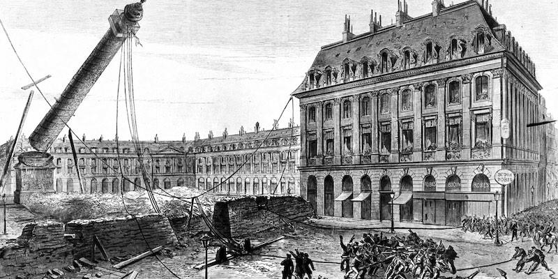 Felling of the Vendôme Column