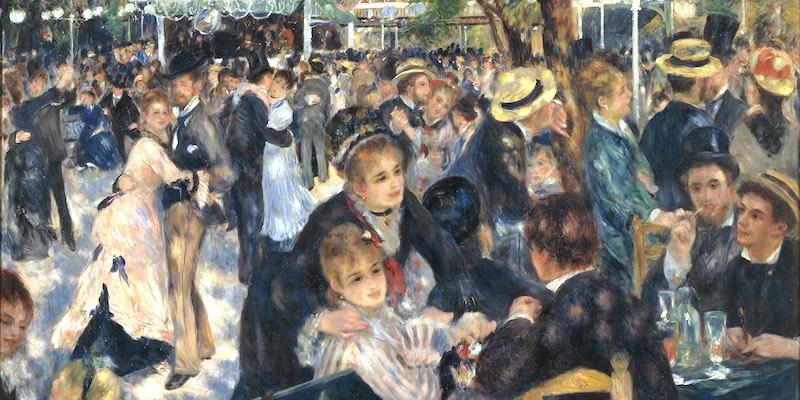 Bal du Moulin de la Galette by Renoir